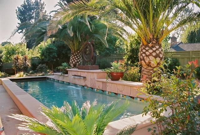 Native Arts Garden Tropical Pool