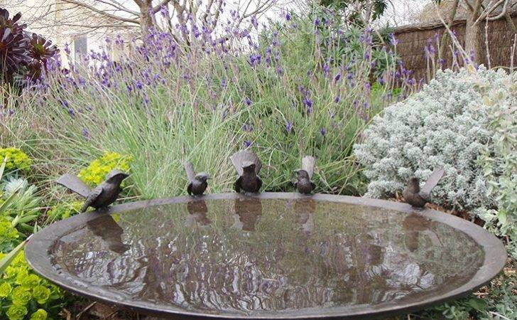 Native Bush Garden Birdbaths Willie Cottage Forward