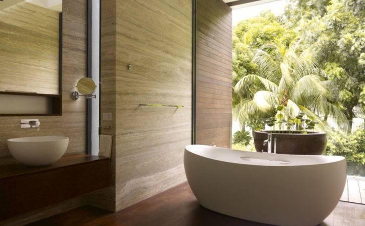 Natural Bathroom Decorating