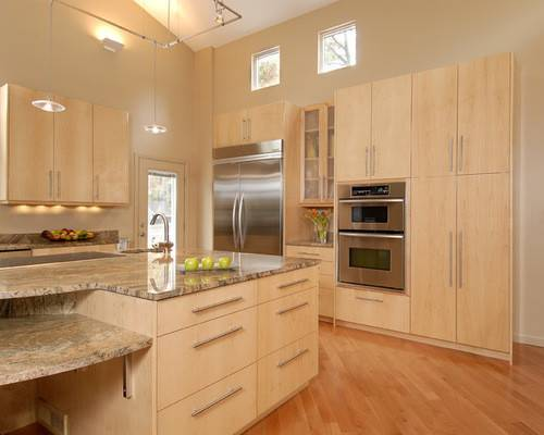 Natural Maple Cabinets Photos Ideas