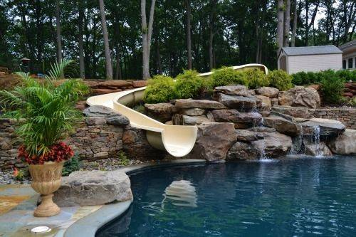 Natural Pool Water Feature Designs Millstone New Jersey