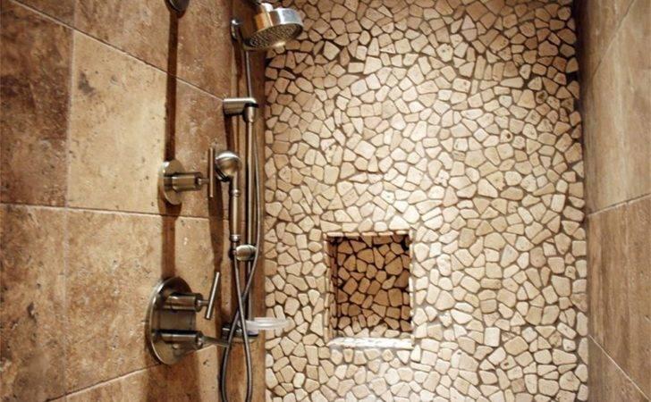 Natural Stone Design Ideas Bathroom Soap Storage Wall