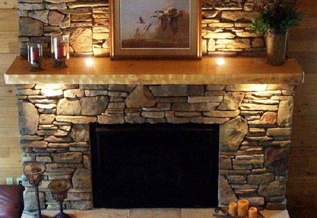 Natural Stone Fireplaces Firepace Led