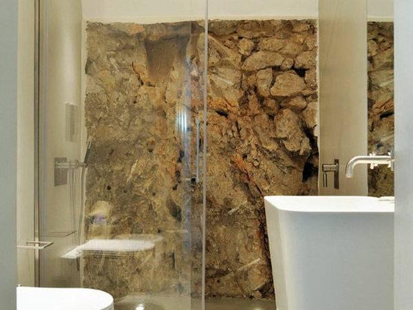 Natural Stone Wall Tiles Bathroom Designs