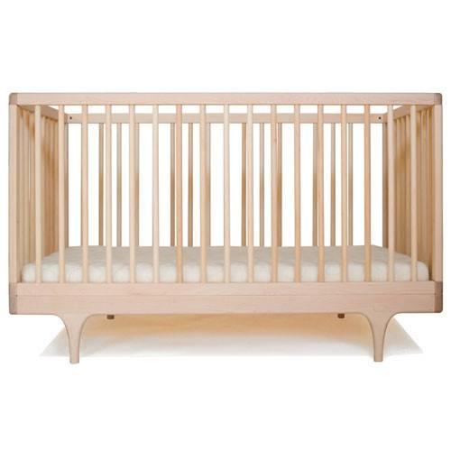 Natural Wood Crib Caravan Maple