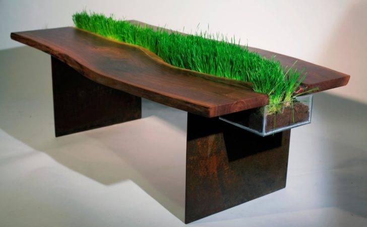 Nature Inspired Furniture Creative Wood Design Bloom Coffee Emily