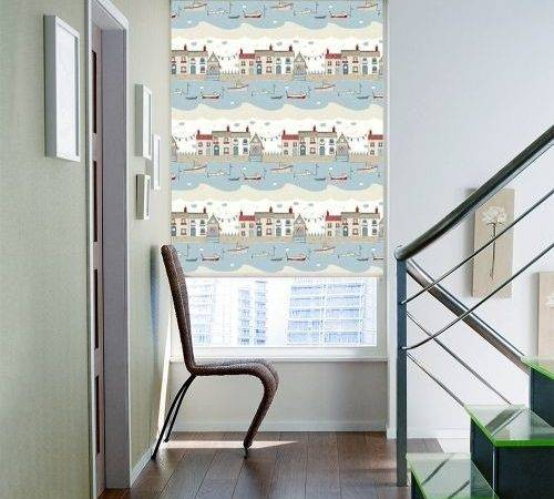 Nautical Blinds Pinterest Roman Grey