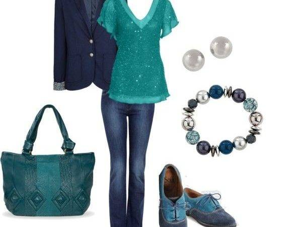 Navy Teal Looks Like Pinterest