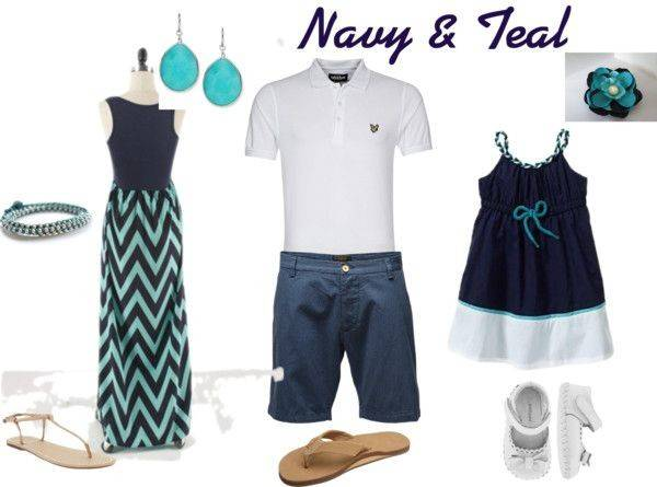 Navy Teal Portraits Pinterest