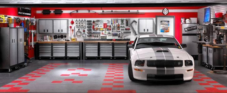 Neat Garage Interior Designs Terrific Design