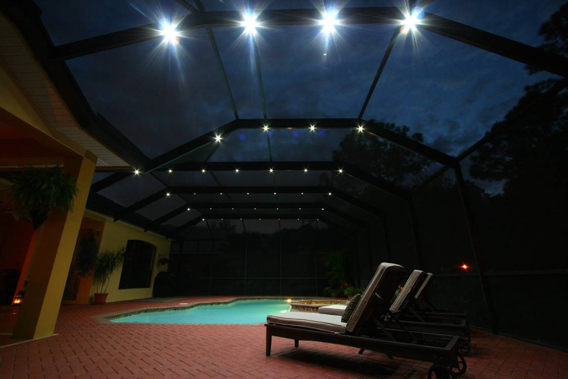 Nebula Lighting Pool Cages Pics Space