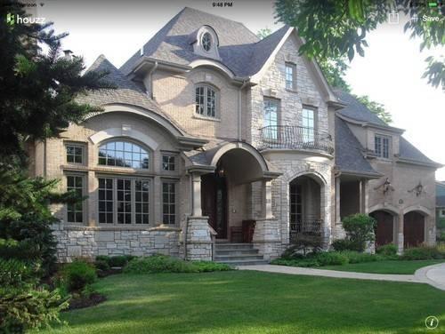 Need Choose Stone Brick Combination New Home