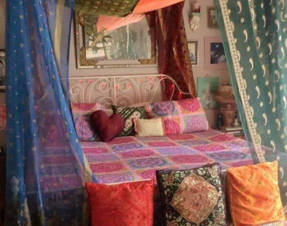 Need More Inspiration Bed Canopy Boho Read Bangdodo