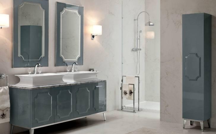 Nella Vetrina Italian Luxury Bathroom Vanities Lacquered Wood