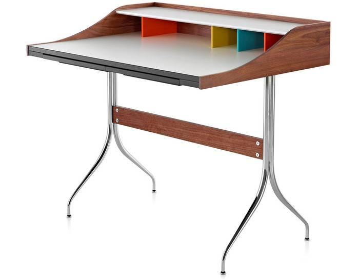 Nelson Swag Leg Desk Hivemodern