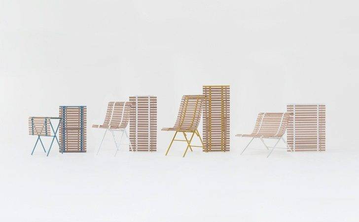 Nendo Designs Space Saving Furniture Double Japanese Style