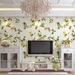 Neoclassical Living Room Wall