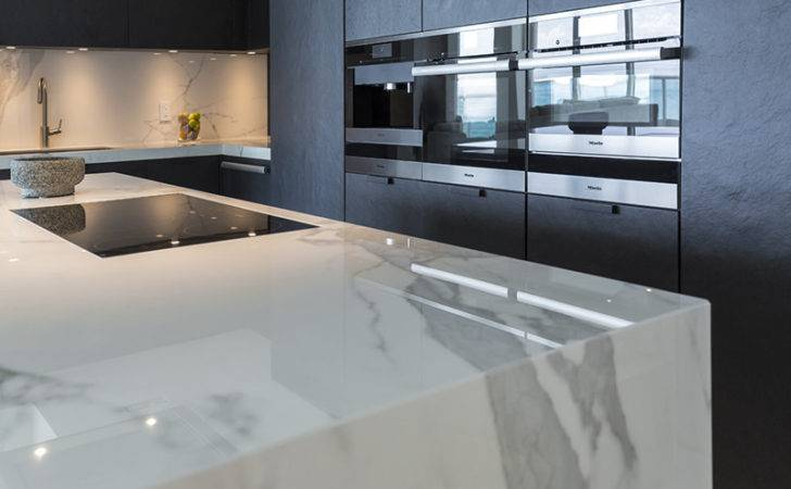 Neolith Main Material Luxurious Apartment Miami