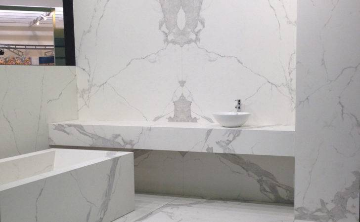 Neolith Sintered Surfaces Bathroom Classtone Statuario