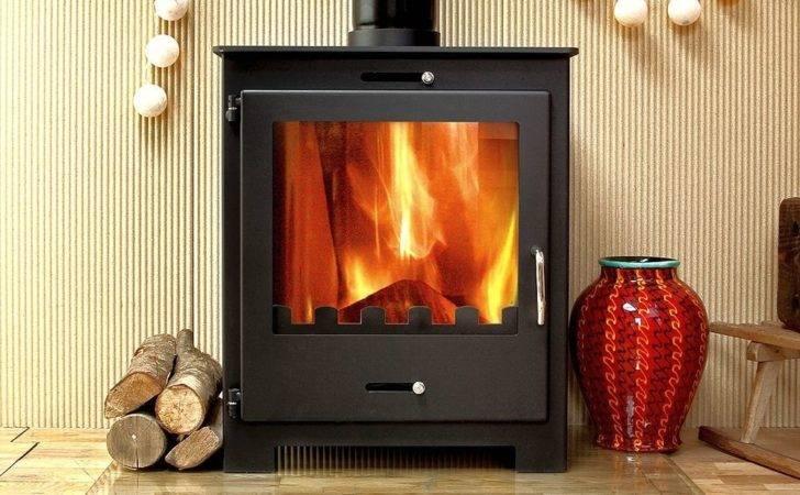 Nero Contemporary Modern Woodburning Stove Stoves Log Burner