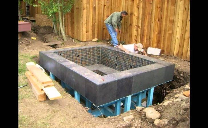 Nespa All Tiled Ground Hot Tub Spa Aquaprospas