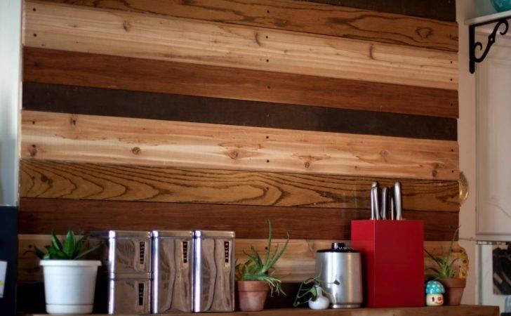 Nest Reclaimed Wood Wall