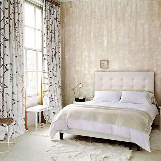 Neutral Bedroom Textured Design Ideas