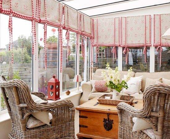 Neutral Furnishings Look Neat Conservatory But Don Detract