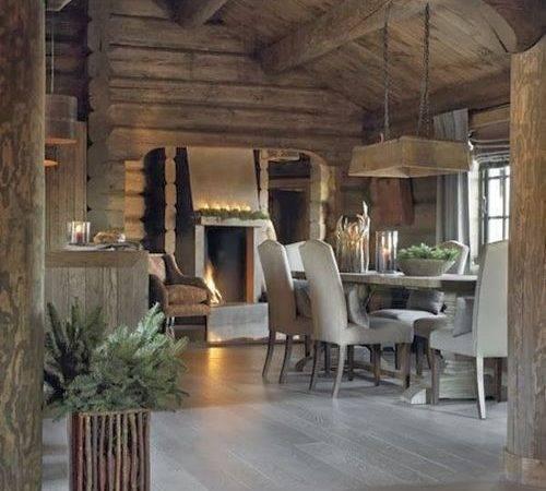 Neutral Mountain Home Interiors Pinterest