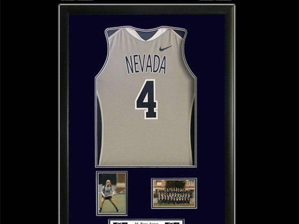 Nevada Basketball Framed Jersey Encased Shadowbox Frame