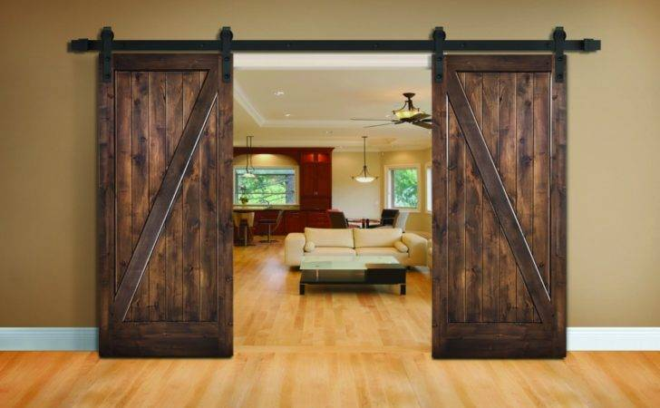 New Barn Door Collection Woodgrain Doors