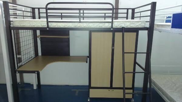 New Gear Metal Loft Bed Cabinet Sales Singapore