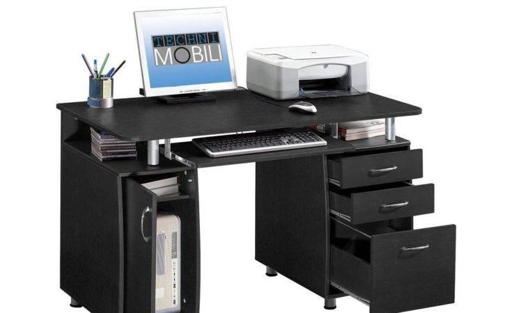 New Home Computer Workstation Desk Drawer