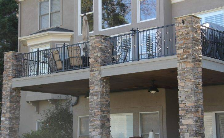New Home Designs Latest Modern Homes Wrought Iron Balcony Railing