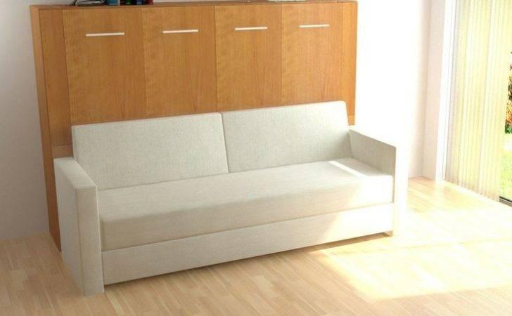 New Horizontal Inline Murphy Bed Sofa Bredabeds