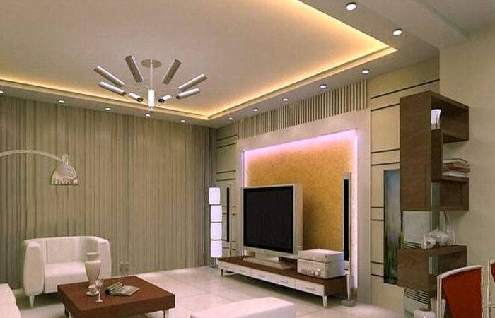New Look False Ceiling Designs Living Room