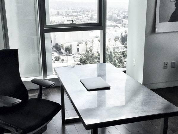 New Minimal Desk Setup Beautiful Shot