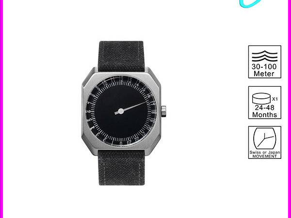 New Product Simple Design Japan Movement Gold Luxury Black Face