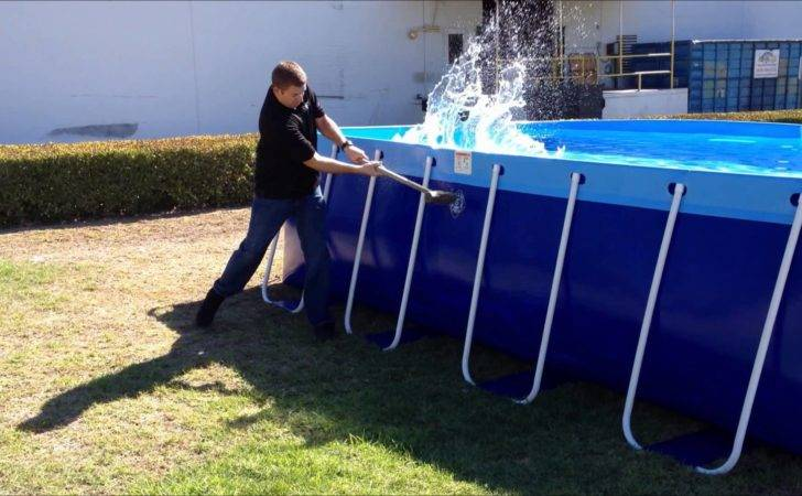 New Quik Swim Pool Splash Round Pools Youtube