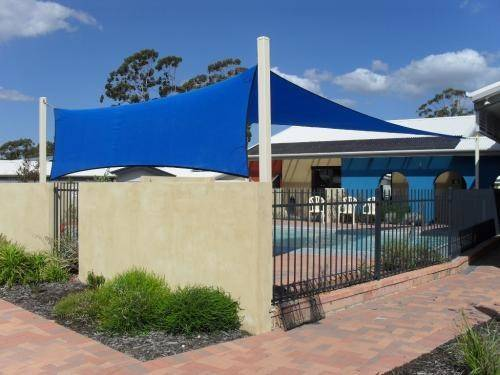 New Shade Sails Commercial Sail Pool