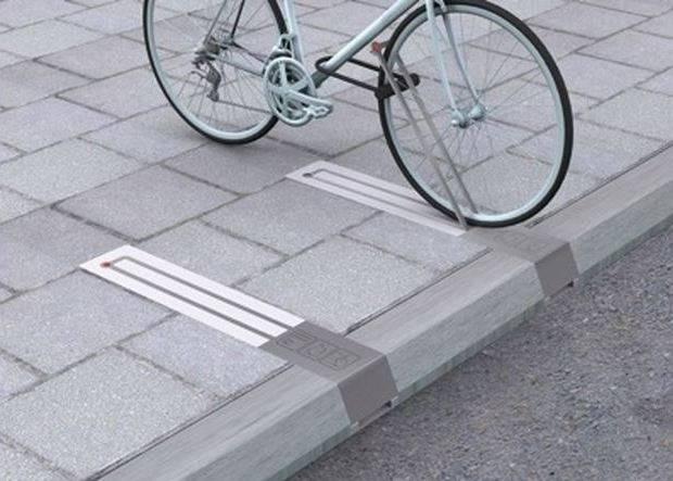 New Sleek Modern Bike Rack