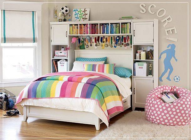 New Teenage Girl Bedroom Decorating Ideas