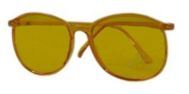 New Yellow Color Therapy Glasses Eyewear Solar Plexus Chakra