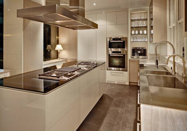 New York Modern Kitchen Cabinetry