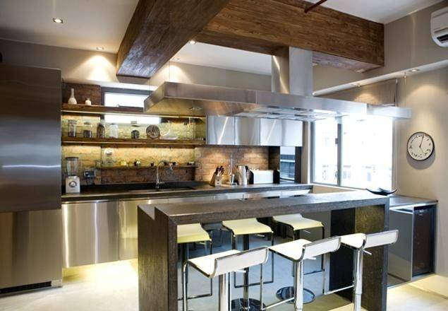 New York Style Loft Kitchen Provest Designer Apartments Pinterest