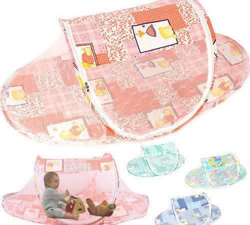 Newborn Bed Crib Pop Canopy Mosquito Tent Playpen Hut Ebay