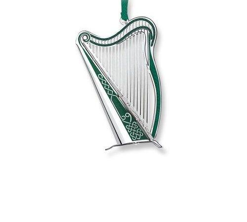 Newbridge Silverware Harp Decoration Homeware Theirishstore
