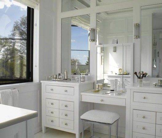 Newbury Bath Stool Transitional Bathroom