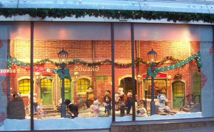 Newcastle Department Store Fenwicks Christmas Window Decorations