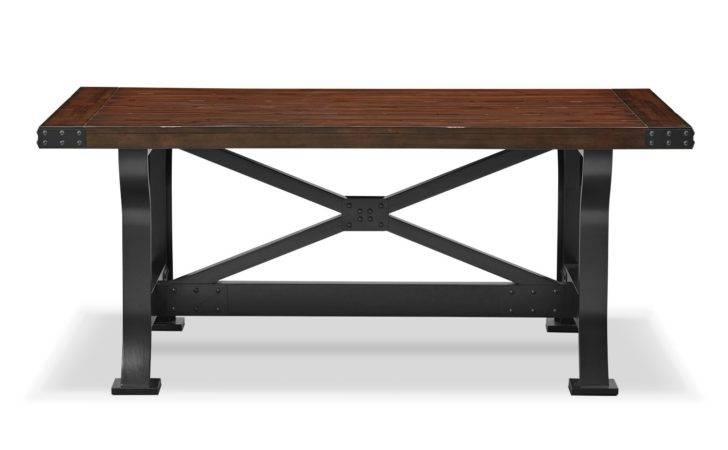 Newcastle Dining Table Mahogany American Signature Furniture